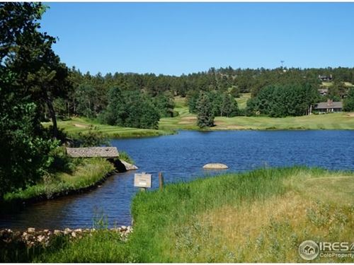 Colorado Golf Course Lot : Red Feather Lakes : Larimer County : Colorado