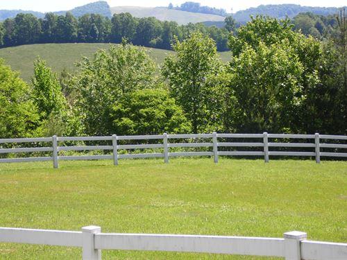 Mini Farm in Alleghany County NC : Piney Creek : Alleghany County : North Carolina