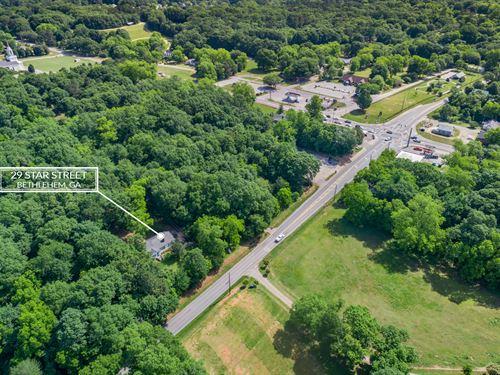 Cozy Ranch On Almost 7 Acres : Bethlehem : Walton County : Georgia
