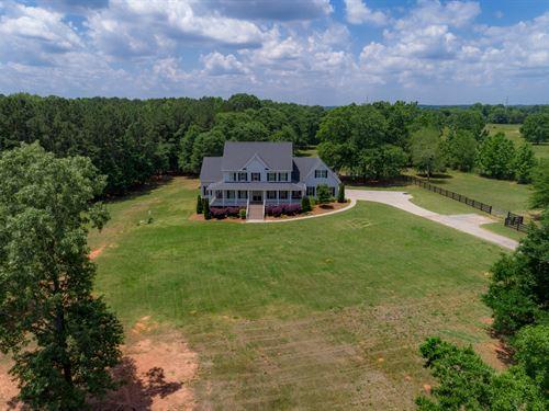 14+ Acres & Home Convenient To Park : Social Circle : Walton County : Georgia