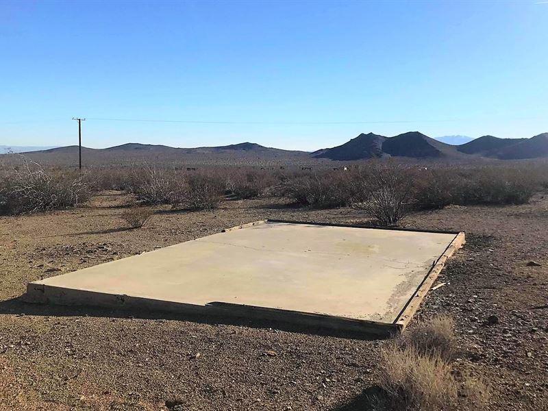 Nice Parcel, Power, Access, $229/Mo : Adelanto : San Bernardino County : California