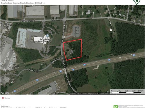 3Ac Commercial Opportunity Near Bmw : Duncan : Spartanburg County : South Carolina