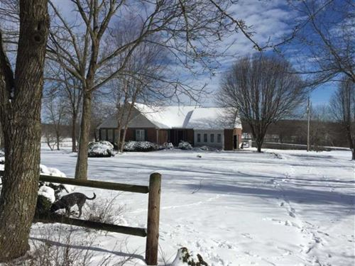 Home on 18 Acres For Sale in Wappa : Wappapello : Butler County : Missouri