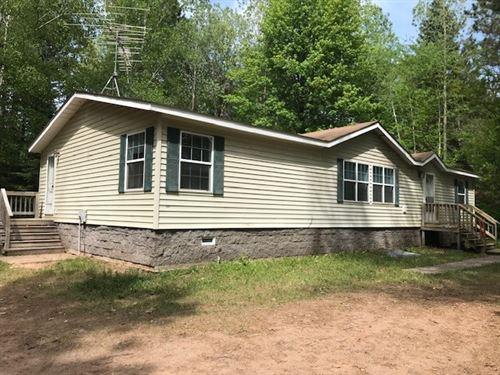 Year Round Home Lake Access to : Sturgeon Lake : Pine County : Minnesota