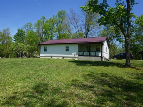 19.71 Acres M/L One Story Ranch : Bomont : Clay County : West Virginia