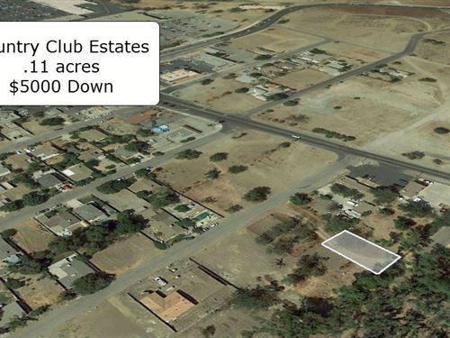 .11 Acre Cleared Lake Elsinore Lot : Lake Elsinore : Riverside County : California
