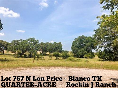 .26 Acres In Blanco County : Blanco : Texas