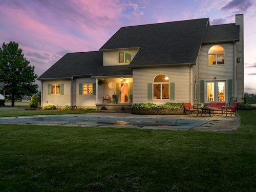 Country Home Farmland, Indiana : Farmland : Randolph County : Indiana
