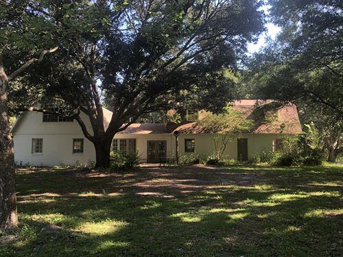 12.64 Acres With Home In Polk City : Polk City : Polk County : Florida