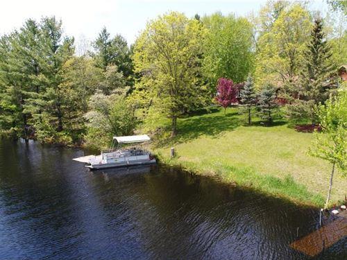 Lake Front Home Cross Lake Pine : Pine City : Pine County : Minnesota