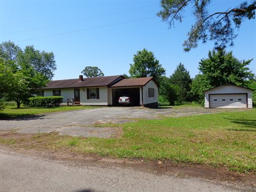 3 Bedroom Home TN Acreage & Shop : Sardis : Hardin County : Tennessee
