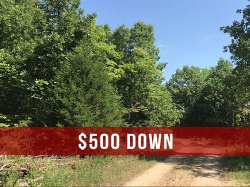 $500 Down On Rural Land : Ava : Douglas County : Missouri
