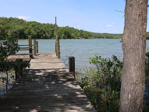 Private Lakefront Property Diamond : Horseshoe Bend : Izard County : Arkansas