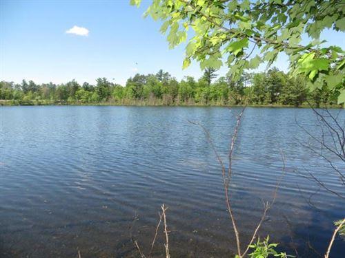178521, Clawson Lk, 440' Frontage : Minocqua : Oneida County : Wisconsin