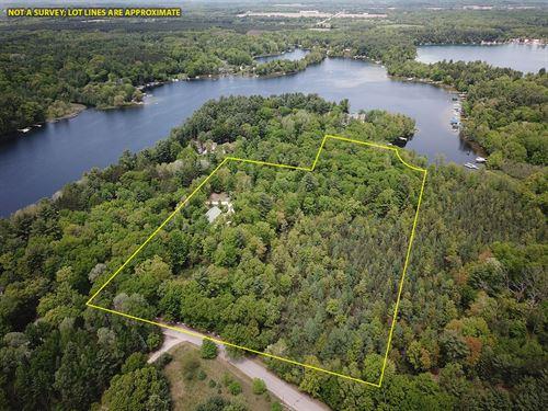 Chain O' Lakes Land Long Lake : Waupaca : Wisconsin
