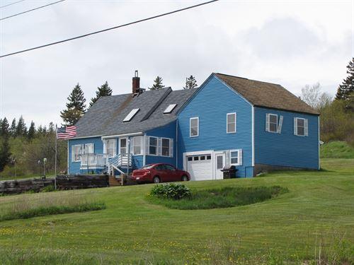 New England Farmhouse Cutler, Maine : Cutler : Washington County : Maine