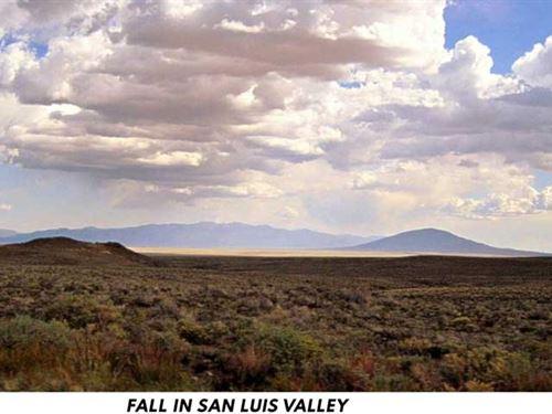Scenic San Luis Valley : San Luis : Costilla County : Colorado