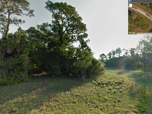 Oversized Corner Lot For Off Grid : North Port : Sarasota County : Florida