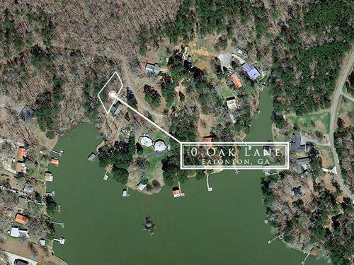 Lake Lot On Sinclar : Eatonton : Putnam County : Georgia