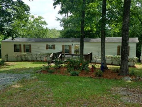 Golden Pond Cottage : Milledgeville : Baldwin County : Georgia