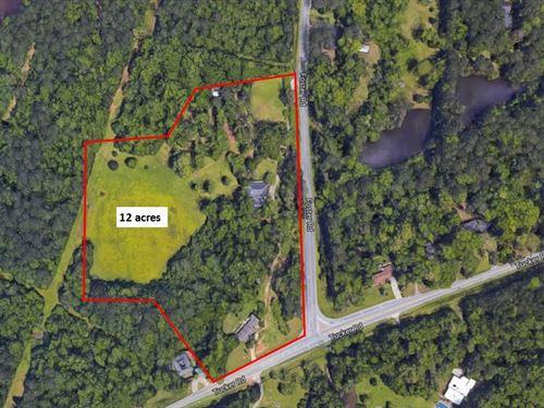 12 Acre Land Tract Available : Macon : Bibb County : Georgia