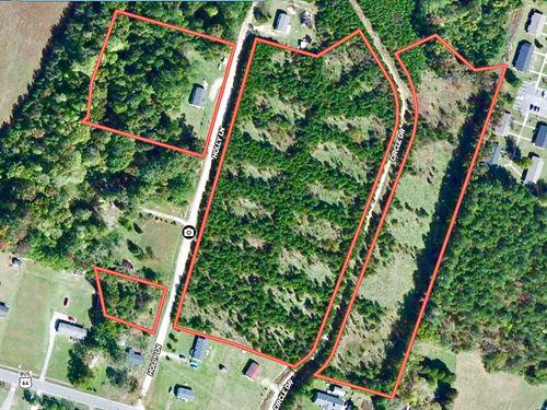 Nc Land For Sale, Martin County : Jamesville : Martin County : North Carolina