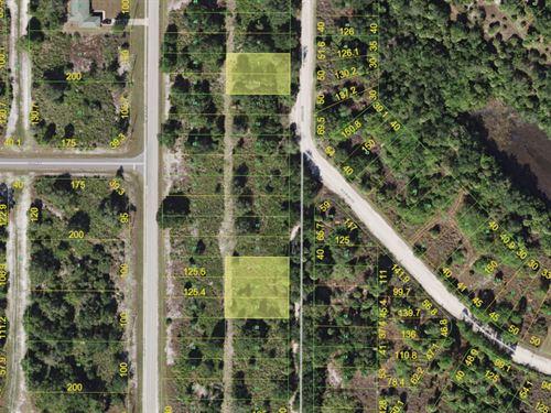 5 Lots Together In Punta Gorda : Punta Gorda : Charlotte County : Florida