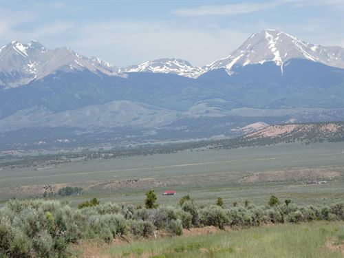 Beautiful Views, 5 Min From Fishing : Fort Garland : Costilla County : Colorado