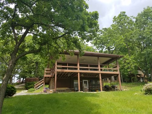 Waterfront Home Lake Thunderhead : Unionville : Putnam County : Missouri