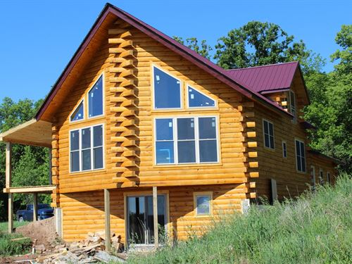 Mille Lacs County Log Home For Sale : Milaca : Mille Lacs County : Minnesota