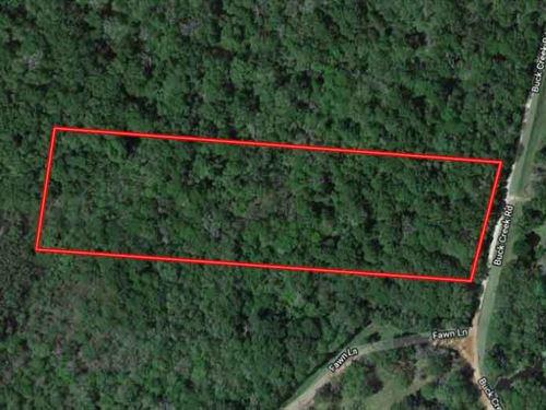 Perfect 5.61 Acres In Shepherd, Tx : Shepherd : San Jacinto County : Texas