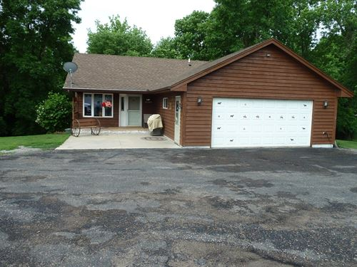 Buffalo MN Country Home 12 Acres : Buffalo : Wright County : Minnesota