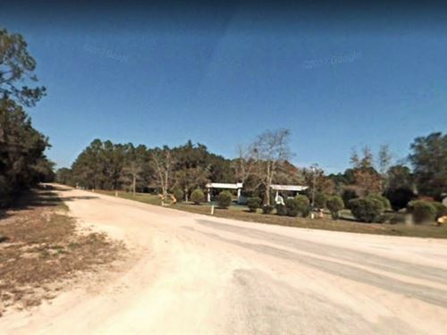 1.24 Acres For Sale In Georgetown : Georgetown : Putnam County : Florida