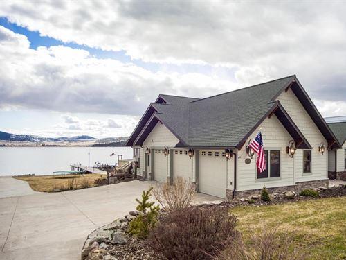 Old Hwy Lakefront : Elmo : Lake County : Montana