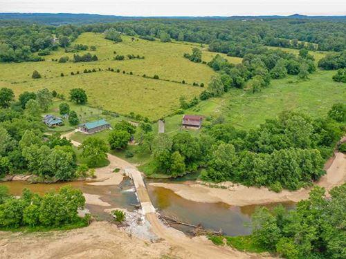 Historical Charm Located on Cow Sk : Ava : Douglas County : Missouri