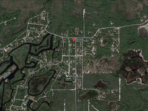 .22 Acres For Sale In Hernando, Fl : Hernando : Citrus County : Florida
