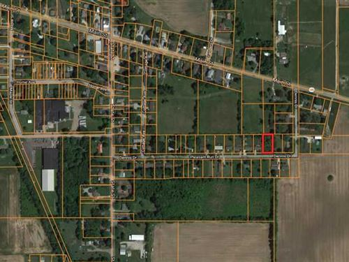Lot For Sale, Markleville, In : Markleville : Madison County : Indiana