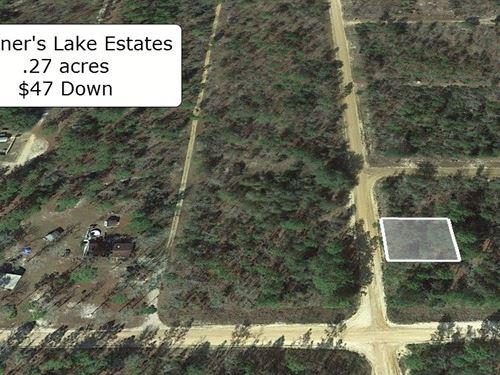 .27 Acre Minutes To Mariner Lake : Interlachen : Putnam County : Florida
