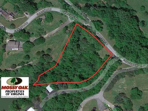 1.24 Acres of Lakefront Residentia : Goodview : Bedford County : Virginia