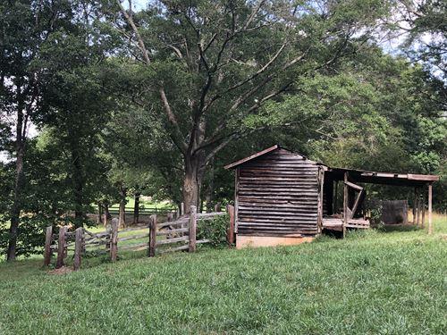 Beautiful Pasture With Creek : Liberty : Pickens County : South Carolina