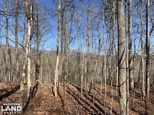 Table Rock Mountain View Homesite : Pickens : South Carolina