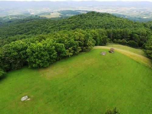 Mountaintop Building Lot Grayson : Independence : Grayson County : Virginia