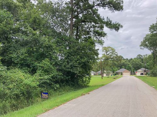 1/2 Acre Piney Point Estates Lot 1 : Conroe : Montgomery County : Texas
