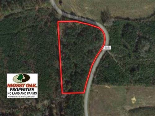 4.5 Acres of Residential Land For : Littleton : Warren County : North Carolina