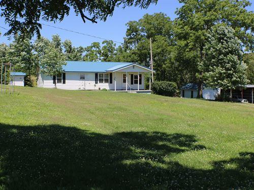 Small Farm in Ozark County MO : Squires : Douglas County : Missouri