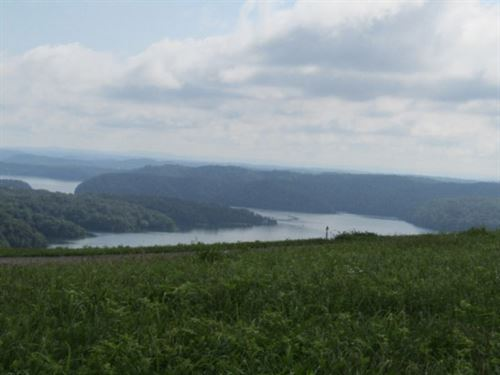 1Ac With Spectacular Lake View : Celina : Clay County : Tennessee
