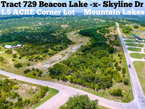 1.54 Acres In Erath County : Bluff Dale : Erath County : Texas