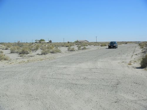 Corner Lot-Rare R-4 Zoning, $150/Mo : Salton City : Imperial County : California