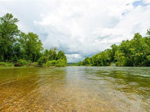 18 Acres Current Riverfront With : Van Buren : Carter County : Missouri