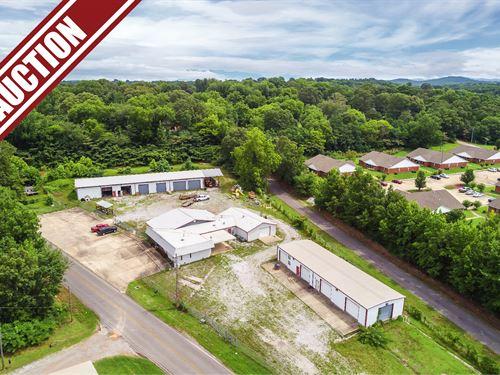 Absolute Auction, Commercial Bldgs : Anniston : Calhoun County : Alabama